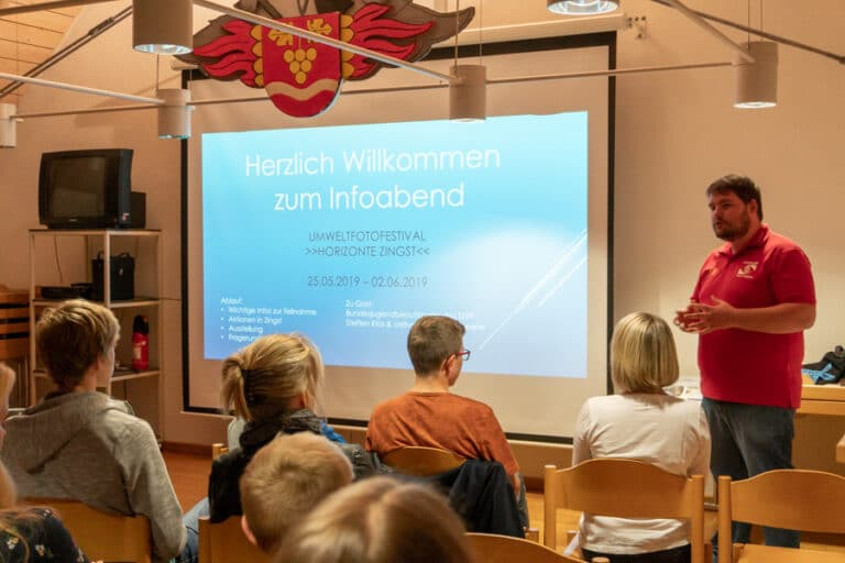 Infoabend zur Teilnahme am Umweltfotofestival in Zingst 2019