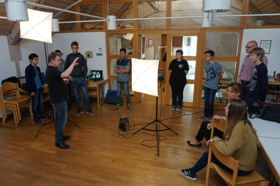 Portraitstudio für die Jugend