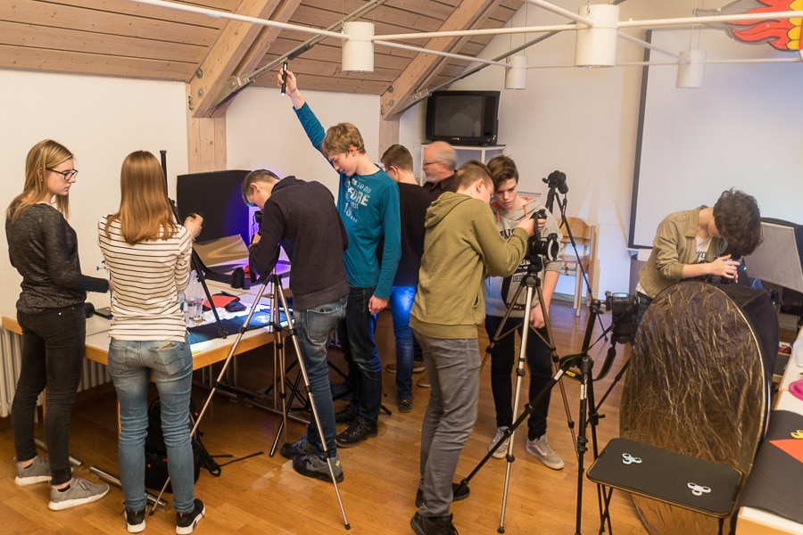 Jugend Fotoclub 25.01.2018 mit Rudolf Mester – Makrofotografie an technischen Details
