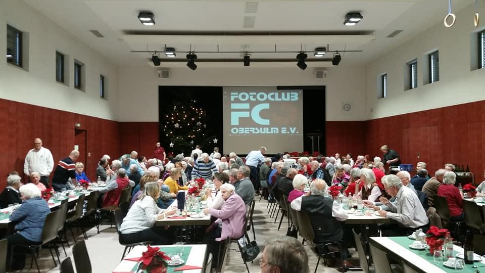 Multivisionshow mit Bildern aus Obersulm bei Seniorenfeier am 07.12.2019