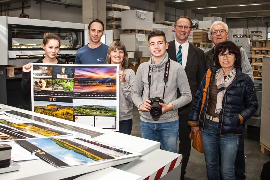 Obersulmer Fotokalender 2017 angedruckt…