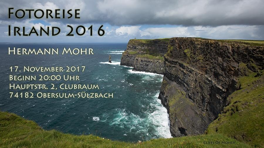 """Fotoreise """"Irland 2016"""" Hermann Mohr"""