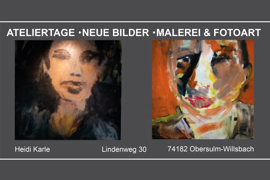 Ateliertage Heidi Karle