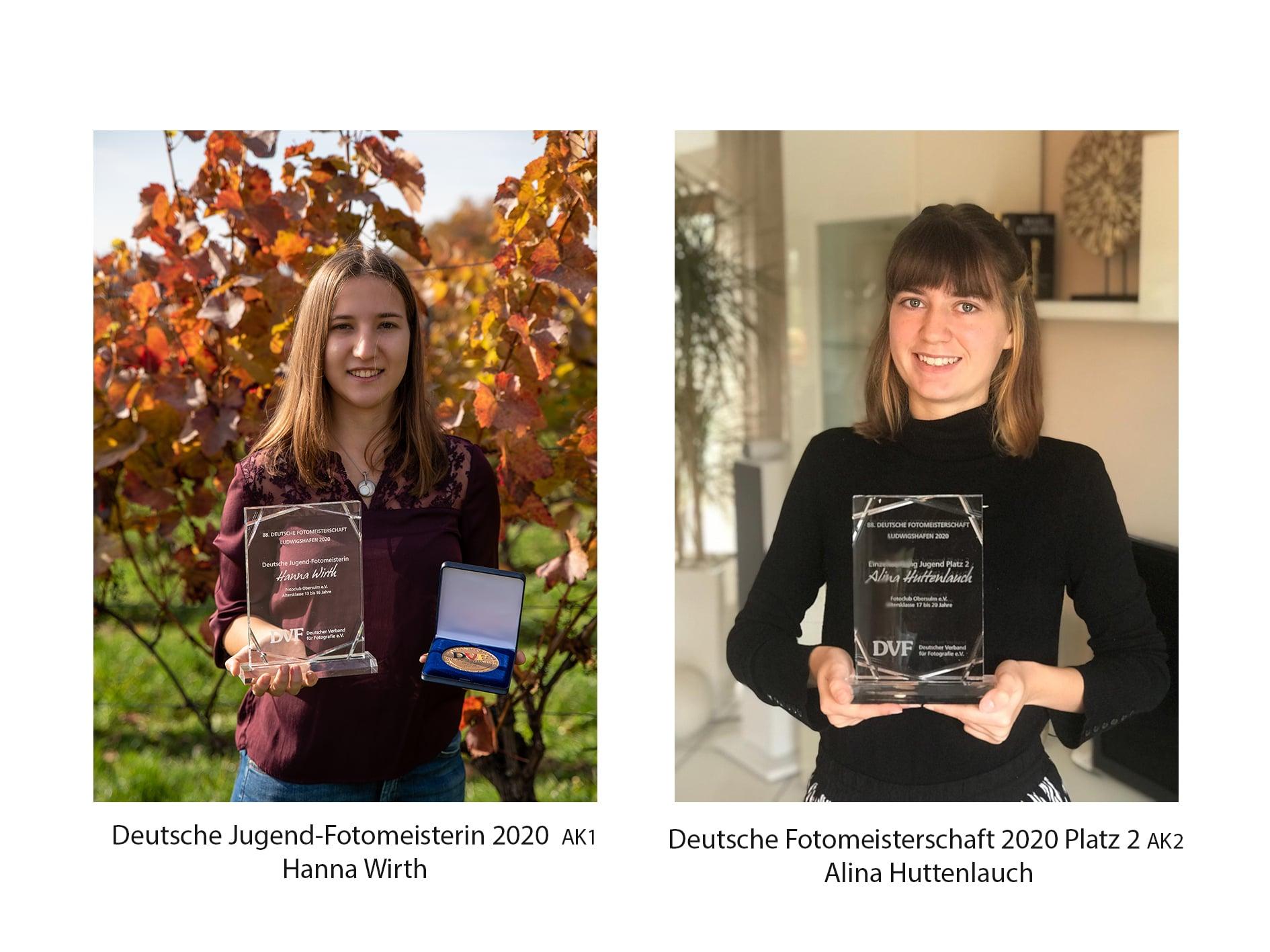 Höchste Auszeichnung für Hanna Wirth bei der Deutschen Fotomeisterschaft 2020