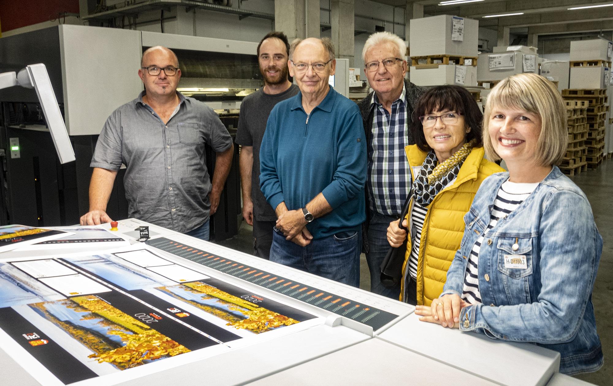 Obersulmer Fotokalender 2020 mit Fotos unserer Mitglieder angedruckt