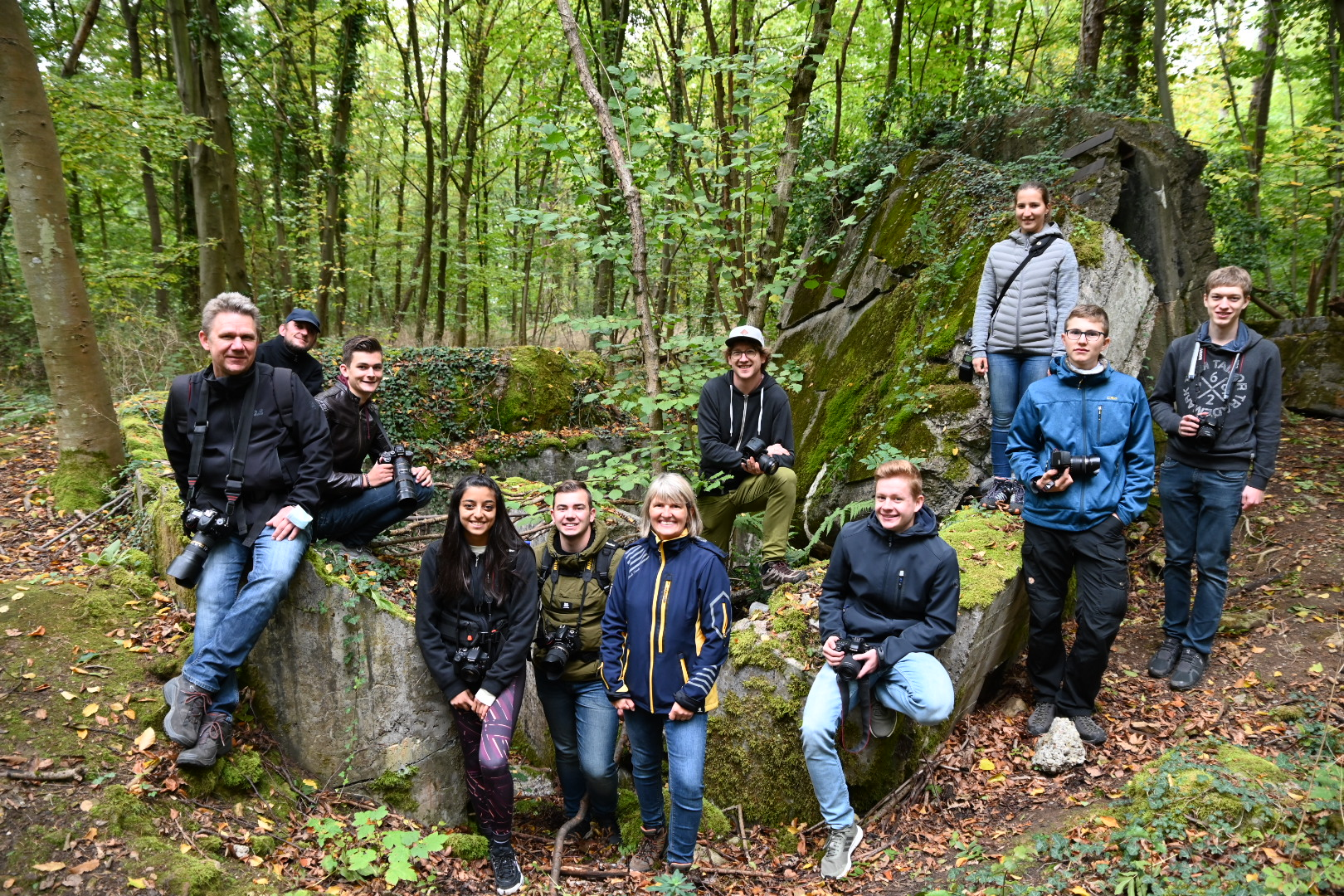 "Jugend-Fotoexkursion ""Lost Places-Bunkertour"" mit Benjamin Seyfang am 03.10.2020"