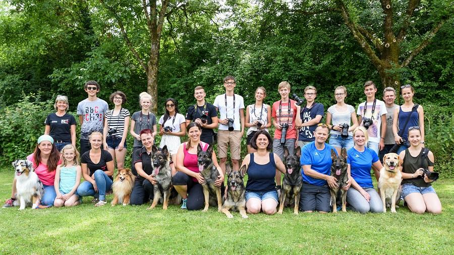 """Jugend Fotoexkursion am 16.06.2018 """"Hundeshooting"""""""
