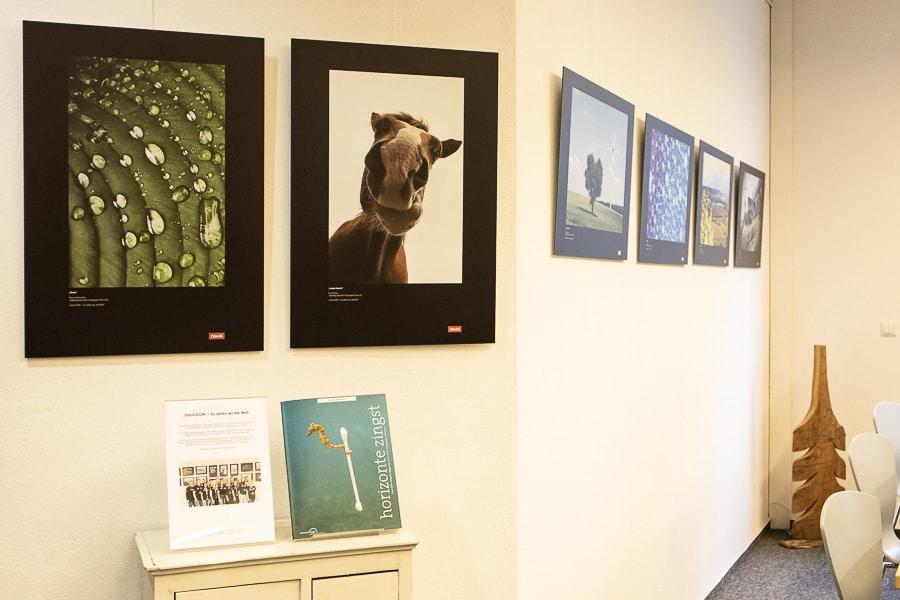 """Jugend Fotoausstellung """"fotoVISION"""" in den Räumlichkeiten der Gemeindebücherei Obersulm"""