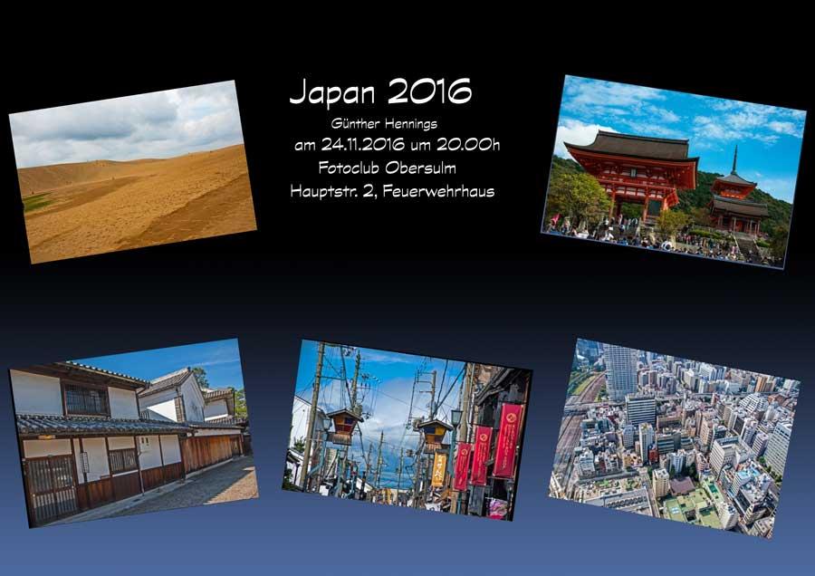"Günther Hennings zeigt ""JAPAN 2016"""