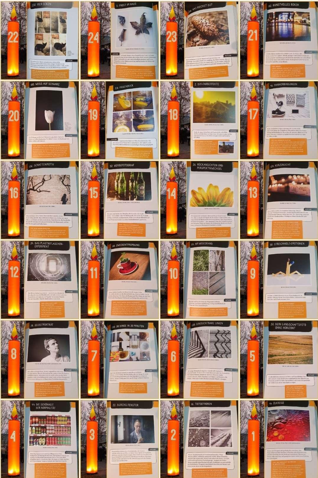 24 Tage kreative Foto-Ideen für die Jugendgruppe