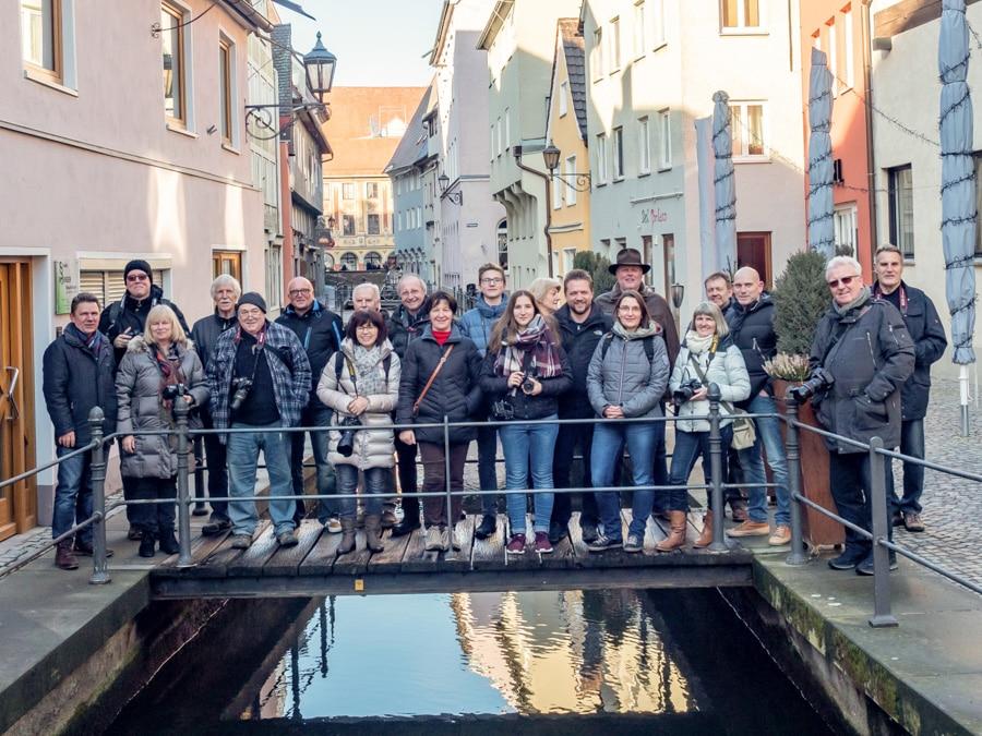 Ausflug nach Memmingen zur Firma Novoflex am 02.02.2019