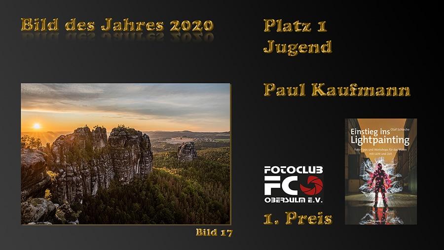 """Wahl """"Bild des Jahres 2020"""" – Jugend – Sieger: Paul Kaufmann"""