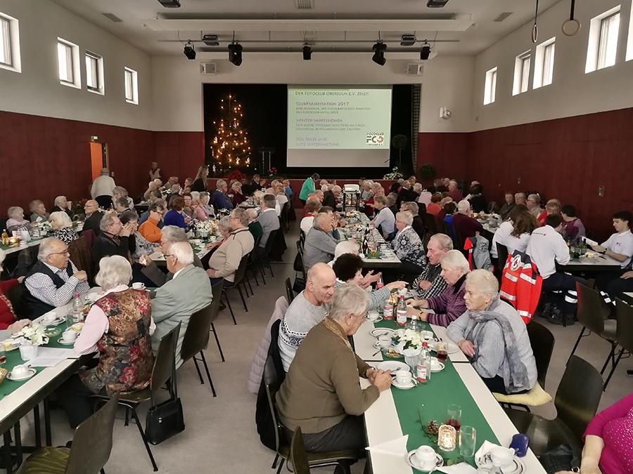 Fotoclub Obersulm beteiligt sich an Senioren-Weihnachtsfeier in Sülzbach …