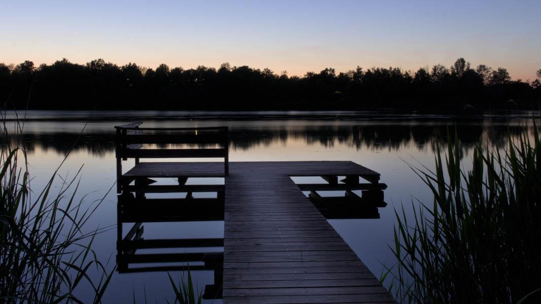 """Bild des Monats Juni"" Jugend 2020 von Niklas Arlt ""Still ruht der See"""