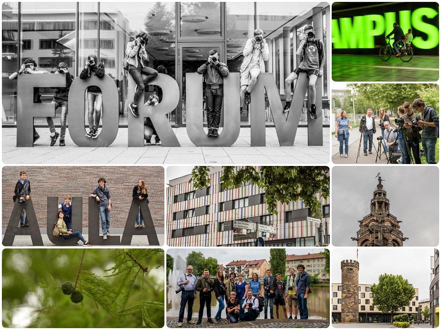 Jugendgruppe unterwegs in Heilbronn am 27.07.2017